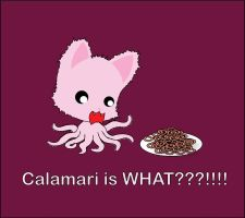 Calamari is WHAT??? by TentacleKitty