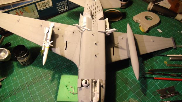 1/48 Scale S-3GC Viking (adding weapons) by Coffeebean2