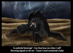 SS Art -  I can`t make it on my own! by Solitaire-Loup