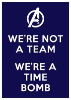 We are not a team. We are a time bomb. by nephren-ka