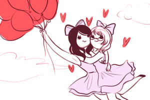 WE ARE KAWAII TO THE SKY by MaryLittleRose