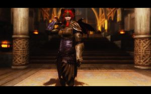 The Thalmor - Succubus Guard by TheDrugInMeIsYou00