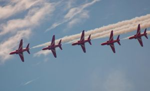 Red arrow air show bmth by panRobus