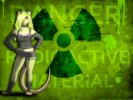 ::commission:: Toxie Wallpaper by AntaresIceslayer