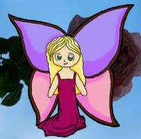 Butterfly Girl by technologicallyinept