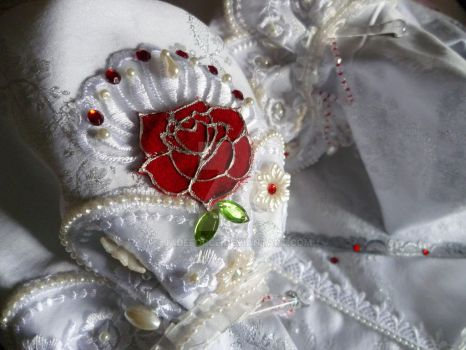 Making of Queen Esther (Trinity Blood), details2. by JadeForce