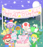 Happy Birthday Kirby! by Candy-Swirl