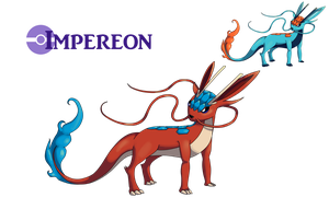Dragon Eeveelution: Impereon (2014) by AlphaXXI