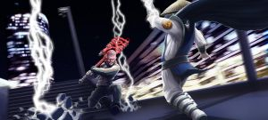 Cole MacGrath vs Raiden by 4y4elo