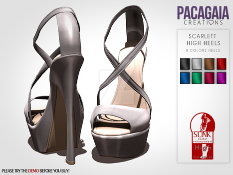 Scarlett High Heels by LainePacagaia