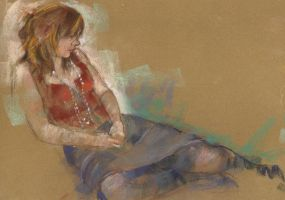 second pastel study by derekjones
