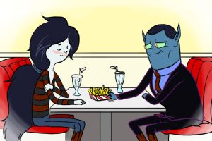 Marceline and Dad by SIRCollection