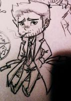 Constantine Chibi by aliceofhearts1129