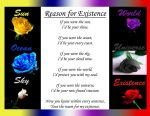 Reason for Existence Poem by StarfiraMayria16