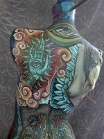 mayan mannequin by cannibol