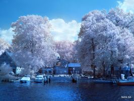 Schulfarm Scharfenberg Infrared by MichiLauke