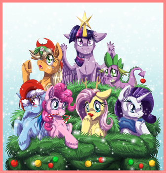 Merry Christmas! - 2013 by InuHoshi-to-DarkPen