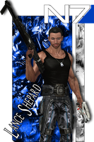 Lance Shepard Deviant ID by Wolvengra