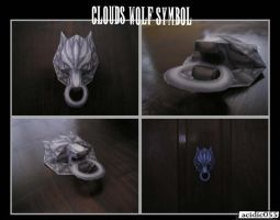 Cloud's Wolf by acidic055