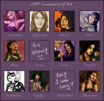 Meme 2009 Art Summary by shadowyzman