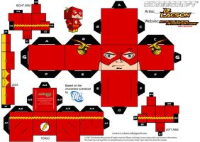 004 B.Allen Flash Template by IzLacson