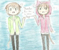 Thanks for the 11,000+ Pageviews by Moonylight12