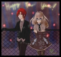 Happy New Year 2012 by forgottencake