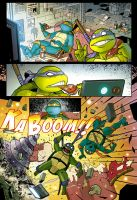 Teenage mutant ninja turtles test page 1 by OscarCelestini