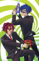 Rinrei Water Guns by llllucid