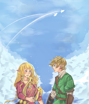 Skyward Sword by xcrumbs