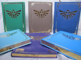 Zelda Books by michaela1232001
