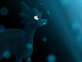 Toothless in my drawing style by Vicstal36