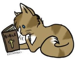 Bible Kitty by banana129