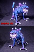 Imp Demon Familiar Converted Glass Pipe 1 by Undead-Art