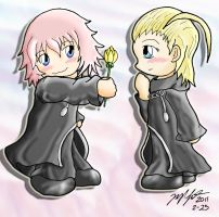 Request - Marluxia and Larxene by mdchan