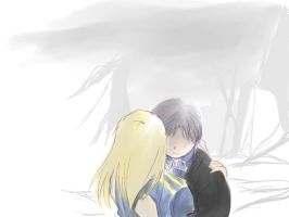 More Roy and Riza by SummerWolf
