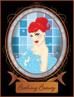 Dayna Delux Bubble Bath by sexyillustrator