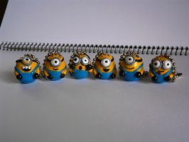 chibi minions charms by dsam4