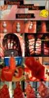 WIP : Flame Princess' wig by iaraSS