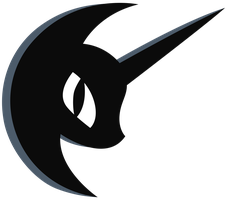 Nightmare moon symbol by Kooner-cz