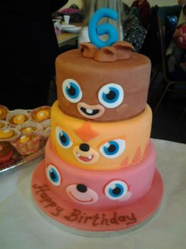 Moshi Monsters Cake by mike-a