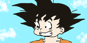 Chibi Goku - DA by supercoquina