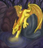 Golden Dragon by Tigerty