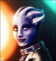 Liara T'Soni by Ice-P-Z