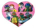2012 Teenage Mutant Ninja Turtles: We Found Love by FlowerPhantom