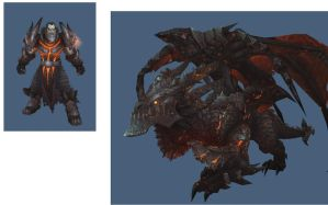 Deathwing In-game models by reaver570