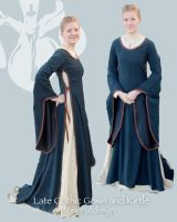 Late gotic gown by lasmith