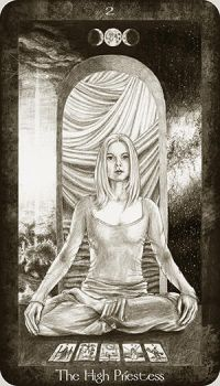 2 The High Priestess by Ellygator