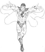 Superman of the Fierce Four by SpiderGuile