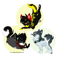 Chibi pack 4! by Endber